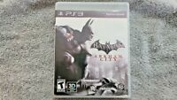 Sony PlayStation 3 PS3 Batman: Arkham City Video Game Complete w/ Manual 2011