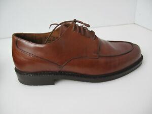 Johnston Murphy Passport Oxford Men Size 11 M Brown Leather Mahogany Dress Shoe