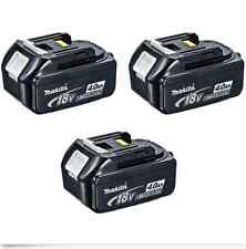 3X Brand-New Genuine Makita 4.0Ah 18v Li-Ion Battery BL1840 for LXT drill saw