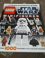 LEGO STAR WARS MINIFIGURES ULTIMATE STICKER COLLECTION BOOK 1000 STICKERS