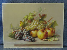 Fruit- Apples & Grapes Print- Germany