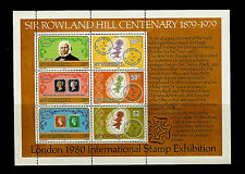 St. Vincent. London 1980 International Stamp Exhibition & Sir Rowland Hill. MNH
