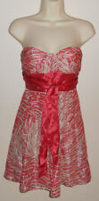 Women Silk BCBG Max Azria Cocktail Evening Clubwear Party Formal  Dress Size 2
