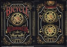CARTE DA GIOCO BICYCLE NECRONOMICON ,poker size