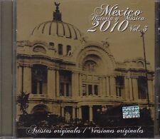 Mexico Historia y su Musica 2010 Vol 3 Karina,Cesar Costa,Los Yaki,Rigo Tovar CD