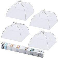 "IPOW 17"" 4 Pack Pop-Up Mesh Screen Food Cover Tents Picnic BBQ Plate Umbrella"