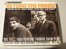 THE COMPLETE BEYOND THE FRINGE 3 CD MILLER MOORE COOK BENNETT  48 PAGE BOOK