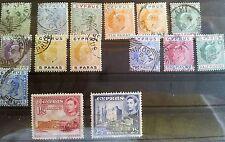Nicht bestimmte gestempelte ungeprüfte Briefmarken aus Europa