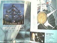Coin card 2 euro 2006 fdc Atomo Atomium Belgio Belgique Belgium Belgica Бельгия