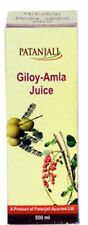 Giloy Amla Juice 500ml By Patanjali Ayurved (100% Ayurvedic Product) Baba Ramdev