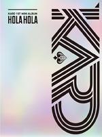 """K-POP KARD 1ST MINI ALBUM """"Hola Hola"""" [ 1PHOTOBOOK + 1CD ]"""