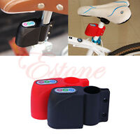 Bike Anti-theft Alarm Lock Motorbike Bicycle Moped Cycling Security Sound Loud