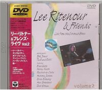 LEE RITENOUR & FRIENDS live from  the coconut grove DVD japan japon COBY-90030