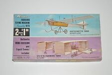 RENWAL Antoinette + Voisin Farman Double kit Aeroskin 1/72