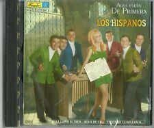 Aqui Estan ... De Primera Los Hispanos Music CD New