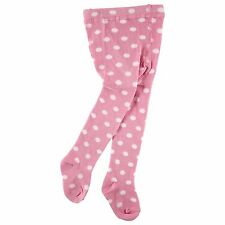 Luvable Friends Baby Toddler Warm Cotton Footed Tights/leggings Polka Dots 0-9 Months