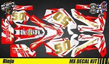 Kit Déco Moto pour / Mx Decal Kit for Rieju MRT MRT Pro - Red Camo