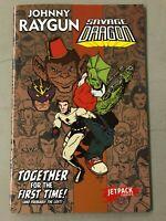 JOHNNY RAYGUN SAVAGE DRAGON 1 JETPACK COMICS EXCLUSIVE First Printing RARE