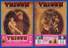 DVD 452  TRIGUN CONFEZIONE DA COLLEZIONE CON 2 DVD