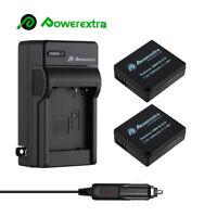 Battery + Charger for Panasonic DMW-BLE9E DMW-BLG10,DMC-ZS60, DMC-ZS100, DMC-GX7