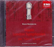 New! HAYDN London Symphonies 101 Clock & 102 Roger Norrington CD 1994 EMI BMG