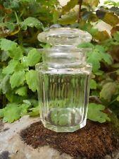 Flacon de toilette pot en cristal taillé Baccarat ? époque XIXème