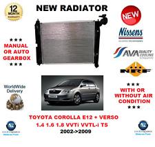 für Toyota Corolla E12 1.4 1.6 1.8 VVTi Yaris+Verso 2002-2009 NEU Kühler