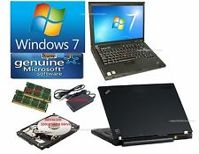 IBM LAPTOP LENOVO T61 Laptop. Complete. Ready to go. Windows, Office, complete