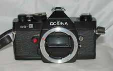 Cosina CS-3 - 35mm SLR Film Camera With 3 Cosinon Lenses and a Flash