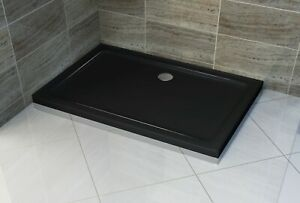 BLACK SHOWER BASES 800x1000 800x1200 900x1200 900x1500 MM **Free Delivery**