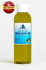 AVOCADO OIL EXTRA VIRGIN ORGANIC UNREFINED by H&B Oils Center COLD PRESSED 2 OZ
