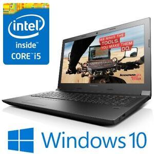 """Lenovo B50-70 Laptop Intel i5 4210U 8G 500G WiFi DVDRW 15.6"""" LED HDMI Win 10 Pro"""