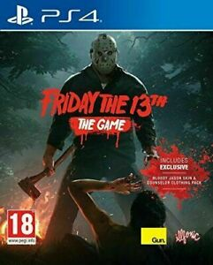 Friday The 13th The Game (Playstation 4 PS4) Great Condition