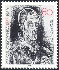 Germany 1986 Kokoschka/Writer/Artist/Authors/Writers/Books/Literature 1v n44491