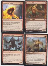 ALL RED  CYCLOPS DECK  40 CARDS N-MINT MTG MAGIC +20 LAND  J111-27