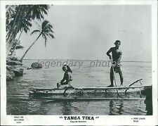 1954 Tanga Tika Original Press Photo Adeline Tema Paul Meoe