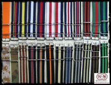 Cinturini Nylon Multicolor:16-18-20-21-22-24-26mm.Nylon Straps. 77colors