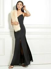 ❤❤ NWT GUESS BY MARCIANO BLACK DIANE MAXI GOWN DRESS SIZE XS ❤❤