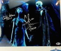 Chris Sarandon Catherine O'Hara signed Jack Sally 11X14 photo BAS COA P24129