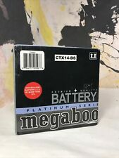 Megaboost CTX14-BS Powersports Battery 12V Motorcycle Bike 210CCA
