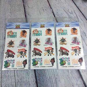 Toy Story Disney Pixar Tattoos 3 Packs (8 in each pack) Party Supplies Favors