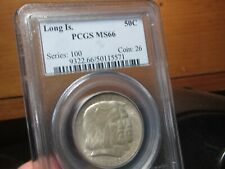 EARLY COMMEM. LONG ISLAND   PCGS   MS-66  A VERY NICE QUALITY GEM
