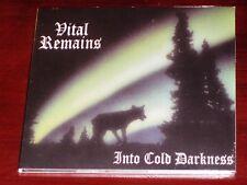 Vital Remains: Into Cold Darkness CD 2004 Peaceville UK CDVILED 48 Digipak NEW