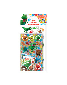 Dinosaur ROAR FUN Assortment Stickers over 40 Stickers Official licensed product