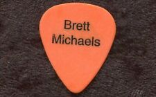 POISON 2003 Harder Tour Guitar Pick!! BRET MICHAELS custom concert stage Pick #2