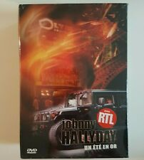█ JOHNNY HALLYDAY : COFFRET 3 DVD NEUFS - UN ETE EN OR (CHACUN AVEC BONUS)