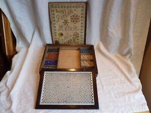 RARE ANTIQUE C.1870 KONEMANNS MOSAIC BOARD GAME, ORIGINAL 19TH CENTURY GERMANY