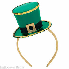 Mini St. Patrick's Day Green Ireland Irish Party Top Hat Fascinator Headband