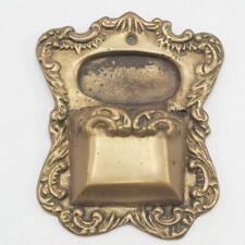 Vintage Small Brass Matchstick Holder