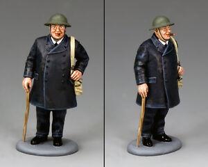 "King & Country Prime Minister Winston Churchill ""Blitz"" Pose DD271"